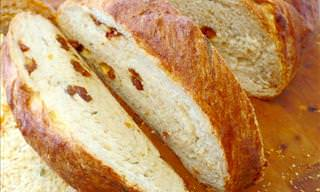 Sun-dried Tomatoes and Parmesan Bread Recipe