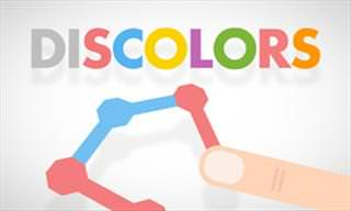 Discolors - A Polygon-Matching Brain-Teasing Game