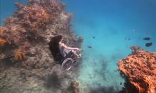 Paralyzed From the Waist Down, She Still Found a Way to Scubadive
