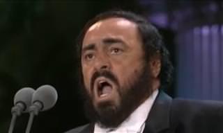 Pavarotti Sings His Signature Song: Nessun Dorma!