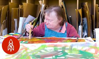 This Center is a Great Place For Artists With Disabilities
