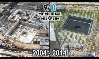 10 Years of Building the 9/11 Memorial. Incredible.
