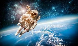 First-Ever Panoramic View of a Spacewalk Recorded