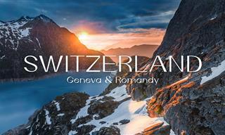 See Geneva and Romandy, Switzerland from a Bird's Eye View