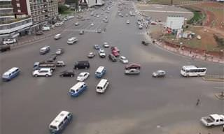 Would you be able to handle this crazy intersection?