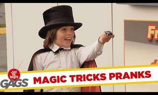 A Hysterical Compilation of Magic Pranks