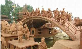 Clay Riverside Park: A Whole Village of Clay