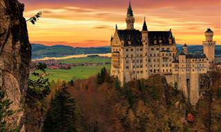 Bavaria: Land of Beautiful Castles, Palaces and Fortresses