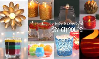You'd Never Guess These Candles Were Homemade!