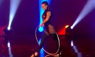 Irina Akimova: Queen of the Hula Hoop.