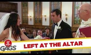 The Runaway Bride - Funny Prank!