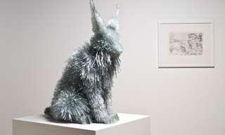 Superb Sculptures of Animals That Sparkle!