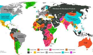 These Maps Show What Each Country Exports the Most