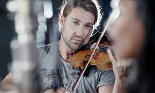 David Garrett + Violin = A Musical Paradise!