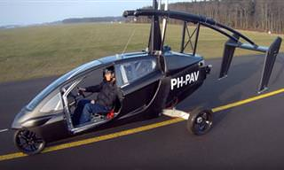 The World's First Commercial Flying Car
