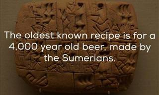 Bottoms Up! 12 Fascinating Facts About Beer!
