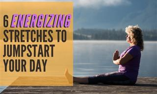 6 Energizing Stretches to Jumpstart Your Day