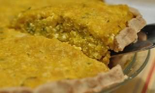 This Savory Kabocha Tofu Pie is a Vegetarian's Dream