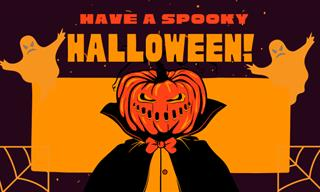 Greeting Cards: Have a SPOOKY HALLOWEEN!