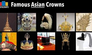 The Most Beautiful Asian Royal Crowns