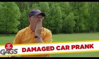 Golfing Can Be A Dangerous Sport - Funny Prank!