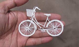 Intricate Pieces of Paper Art