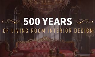 500 Years of Living Room Design in 12 Pictures