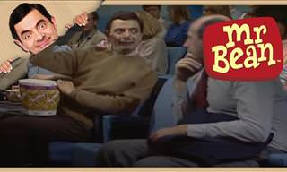 Classic Comedy: Mr. Bean Goes to the Cinema!