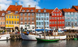 15 Cheerfully Colorful Towns and Villages Around the World