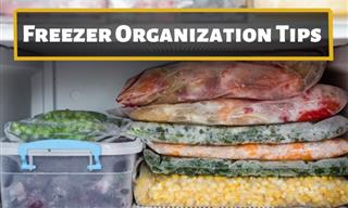 Make Your Freezer More Organized With These Useful Tips