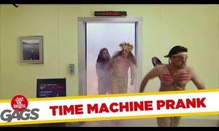 The Time Machine Elevator - Hilarious Original Prank!
