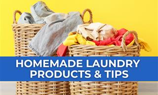 Making Laundry Products At Home Is Easy - Here Are 8 Ideas