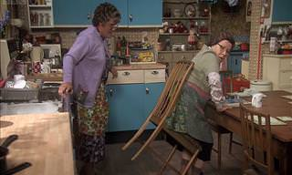Hilarious: Mrs. Brown and Her Sticky Situation (Rude)