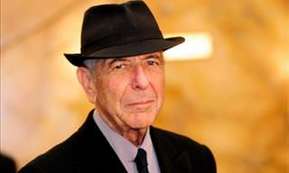 Leonard Cohen Sings Hallelujah Like No Other!