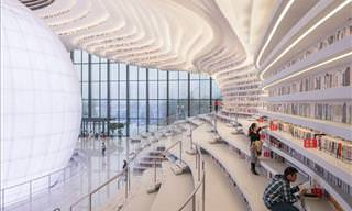 Impressive Library in China