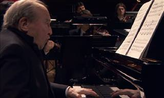 Watch: 92-Year-Old Pianist Playing a Mozart Concerto