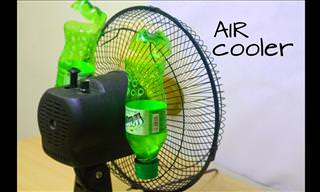 What's Better For Summer Than a DIY Air Conditioner?