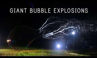 The Art of Giant Bubbles...