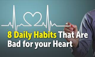 8 Daily Habits That are Bad for Your Heart