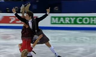 John and Sinead Kerr's Scottish - Themed Ice Dance