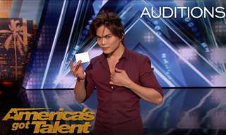Shin Lim Wows the Judges on America's Got Talent