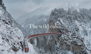 See Switzerland's Beauty Through This Scenic Train Ride