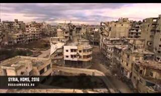 The Price of War: An Aerial Look at War-Torn Syria