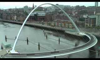 Gateshead Bridge is My Idea of Incredible Architecture