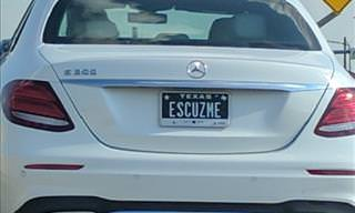 Hilarious Vanity License Plates