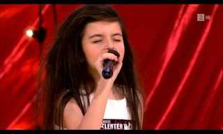 The Voice Coming Out of This Girl Is Incredible.