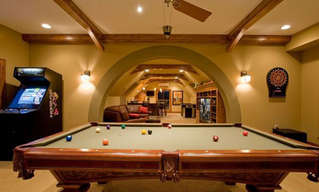 Every Man Needs a Fortress: Man Caves!