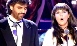 WATCH: Brightman & Bocelli's Musical Masterpiece