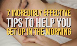 7 Tips to Getting Up in the Morning