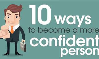 10 Ways to Become A More Confident Person